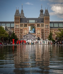 The Rijksmuseum (National Museum) Amsterdam - Europe Vacation