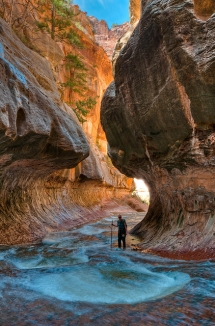 The Subway- Zion National Park, Utah - Dream destinations