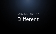 Think, Do, Love, Live Different - Inspiring & motivating quotes