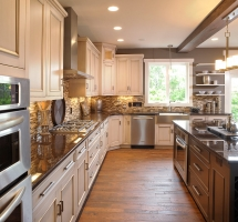 Three kitchen colors that tie - Dream Kitchens