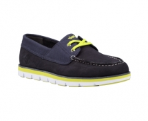 Timberland Men's Earthkeepers Harborside 2-Eye Leather Boat Shoes - Shoes