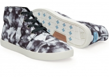 Toms Black Grey Satin Cloudscape Women's Paseo High - Clothing, Shoes & Accessories