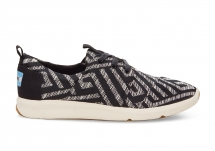 Toms Black Tribal Woven Women's Del Rey Sneakers - Clothing, Shoes & Accessories