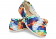 Toms Multi Canvas Paint Chips Women's Classics - Clothing, Shoes & Accessories