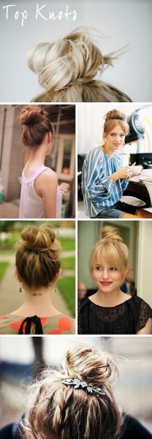 Top Knots - Fave hairstyles