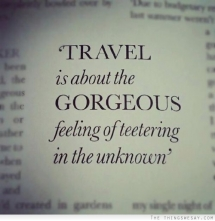 Travel quote - Quotes & other things