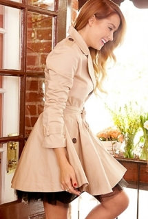 Trench Coat - Clothing