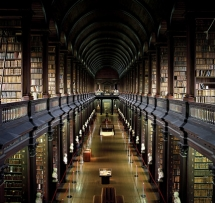 Trinity Library in Dublin, Ireland - Libraries