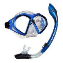 U.S. Divers Admiral 2 Lx / Island Dry Adult Silicone Mask Combo - Fave sporting gear