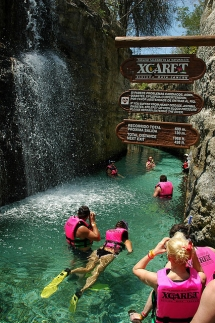 Underground River Xcaret, Mexico - Beautiful places