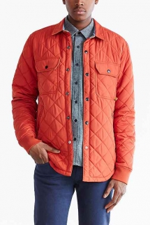 Urban Outfitters CPO Russo Quilted Shirt Jacket - Jackets & Coats