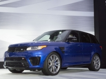 US debut of the Range Rover Sport SVR at the 2014 Monterey Car Week - High Performance SUVs