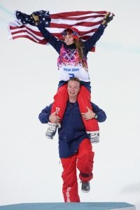 USA's Maddie Bowman wins Gold in Halfpipe Skiing at Sochi Olympics - The Sochi 2014 Winter Olympics