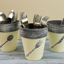 Utensil taracotta pots - DIY Projects