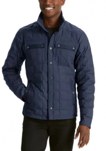 Utility Down Shirt Jacket - Jackets & Coats