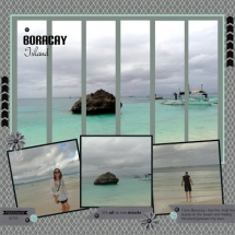 Vacation scrapbook pages - Scrapbooking