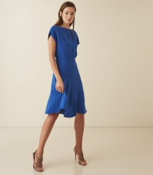 Victoria Capped Sleeve Midi Dress - Winter Wardrobe
