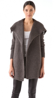 Vince Honeycomb Knit Jacket - Fave Clothing & Fashion Accessories