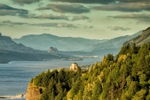 Vista House on Crown Point by Michael Libbe - Pics I love