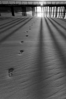 Walking into the light [photo] - Amazing black & white photos