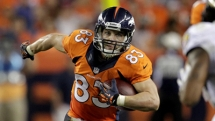 Wes Welker - American football wide receiver Denver Broncos - Greatest athletes of all time