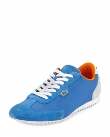 Westcott Mixed-Media Sneaker, Blue - Clothes make the man