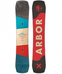 Westmark Rocker Midwide Snowboard 2016 by Arbor - Winter Sports