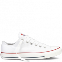 White Chuck Taylor low canvas style - Chuck Taylor
