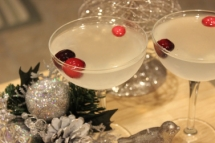 White Cranberry Martini - Food & Drink