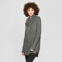 Women's Cozy Neck Pullover - Winter Wardrobe