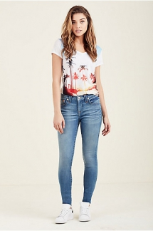 Women's Curvy Skinny Fit Jean from True Religion - Fave Jeans