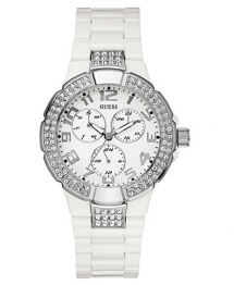 Womens white Guess watch - Christmas gift ideas for the Wife