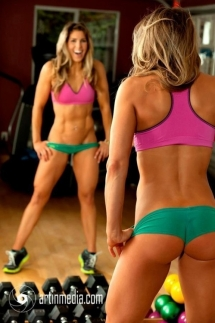 Wow! Now this woman is fit! - Fitness
