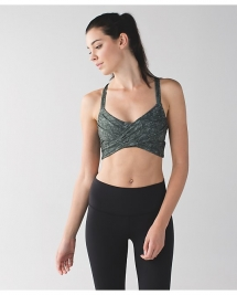 Wrap It Up Bra by Lululemon  - I LUV Lululemon