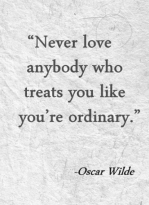 You are not ordinary - Quotes & other things
