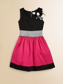 Zoe Girl's Colorblocked Dress - For the new arrival