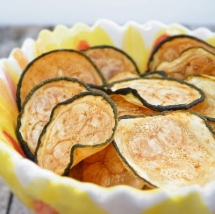 Zucchini Chips - Vegetarian Cooking