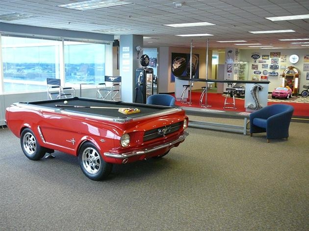 1965 Ford Mustang Pool Table - Image 3