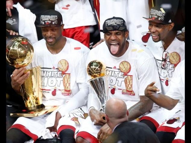 2013 NBA Champions Miami Heat - FaveThing.com