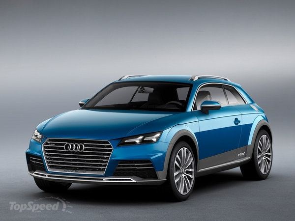 2014 Audi Allroad Shooting Brake Concept SUV
