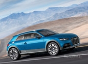 2014 Audi Allroad Shooting Brake Concept SUV - Image 2