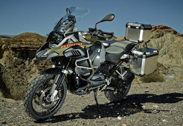 2014 BMW R 1200 Adventure Motorcycle