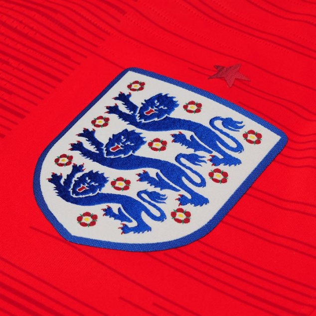 2018 England National Team Football Official Away Jersey - Image 3