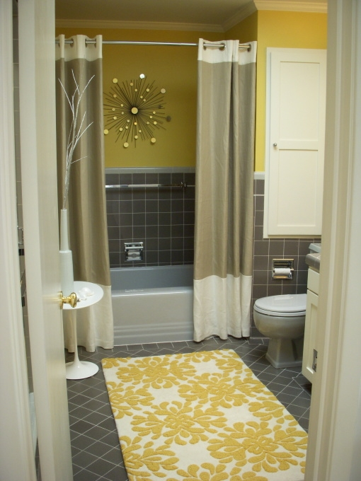 2 shower curtains for the bath for Bathrooms b q installation