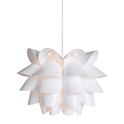 40w comtemporary white pendant light lotus designed 1 light 40w comtemporary white pendant light lotus designed 1 light aloadofball Image collections
