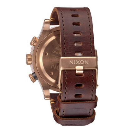 48-20 Chrono Leather in Rose Gold - Nixon - Image 2