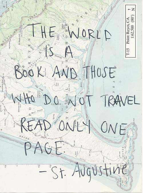 A Quote On Traveling