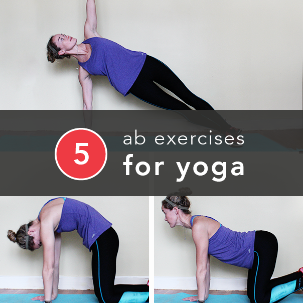 Ab exercises for yoga