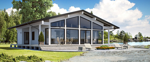 Airisto Modern Log House