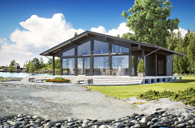 Airisto Modern Log House - Image 2